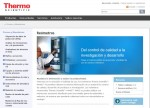 Web de Thermo Scientific