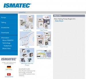Web de Ismatec